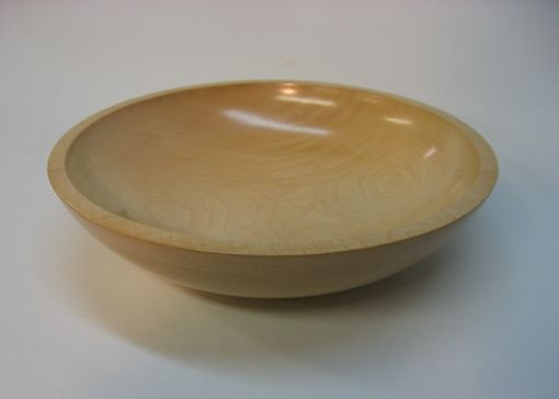 Custom Made English Sycamore Bowl