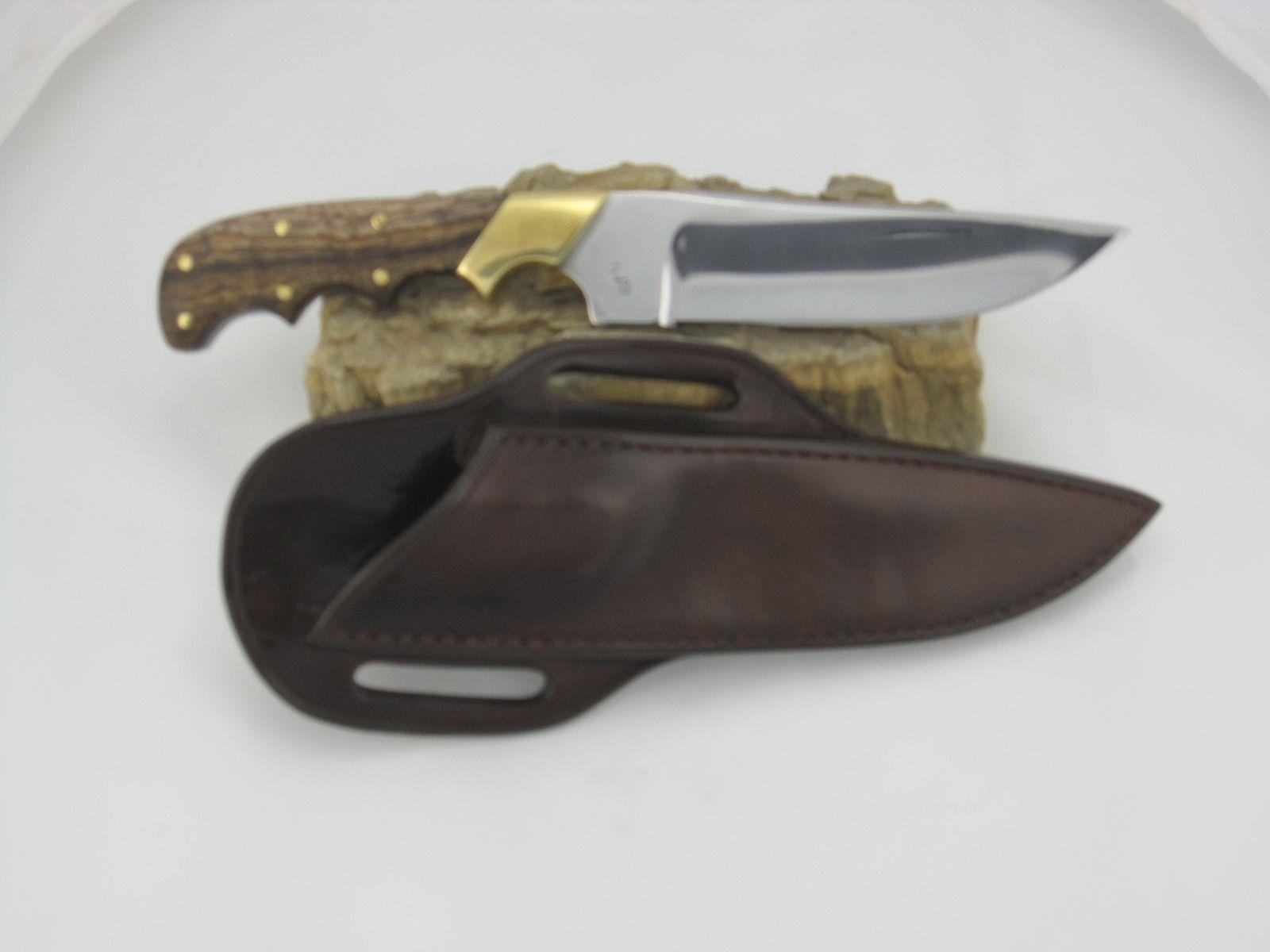Hand Crafted Right Hand Cross Draw Custom Knife Sheath By Circle Bar