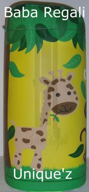Custom Made Safari Diaper Pail (Jungle Diaper Pail)