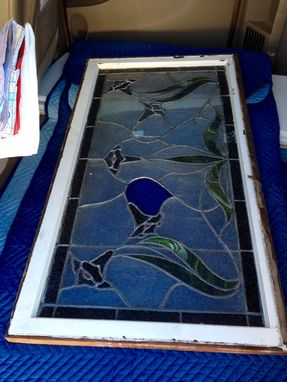 Custom Made Mounting For Leaded/Stained Glass Window