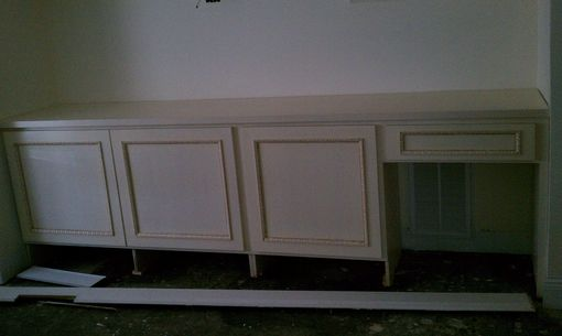 Custom Made Entertainment Center Built In