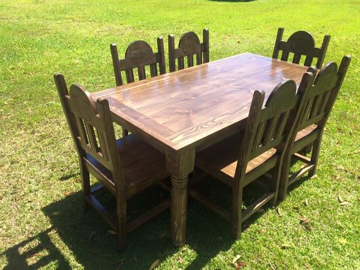 Custom Made Texa Star Dining Table Set
