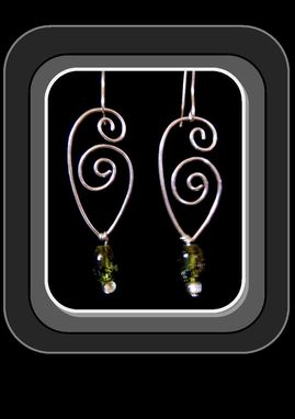 Custom Made Abstract, Earrings