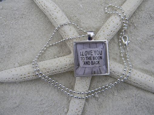 Custom Made Customized Bezel Silver Plated Pendant/Necklace