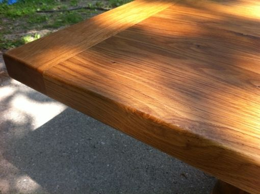 "Custom Made Dining Table, 6ft, 2"" Pine, Rustic, Bread Board"