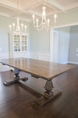 Custom Made Sit Down Dinner Table