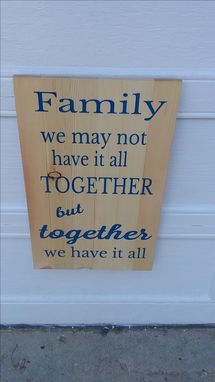 Custom Made Plank Signs, Wooden Engraved Plank Signs
