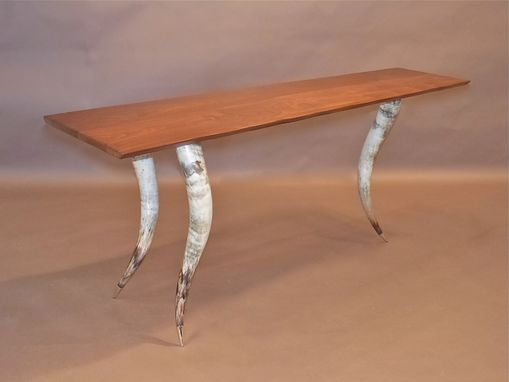 Custom Made Trinity Longhorn Table