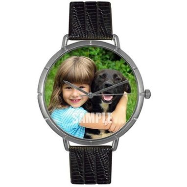 Custom Made Custom-Pets-Photo-Watch-Unisex-Silver-Style-T-0000007