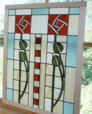 Custom Made Dard Hunter Stained Glass