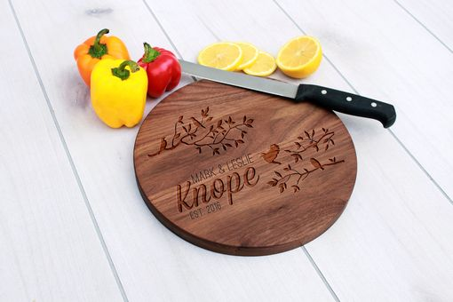 Custom Made Personalized Cutting Board, Engraved Cutting Board, Custom Wedding Gift – Cbr-Wal-Markleslieknope
