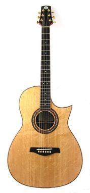 Custom Made Sonic Sitka Triple O Acoustic Guitar