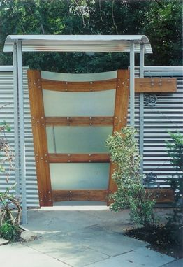 Custom Made Sliding Modern Gate