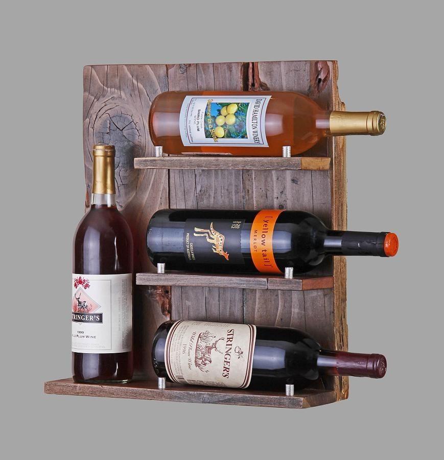 Custom Made Reclaimed Wood Wine Rack - Buy A Custom Reclaimed Wood Wine Rack, Made To Order From Sweet
