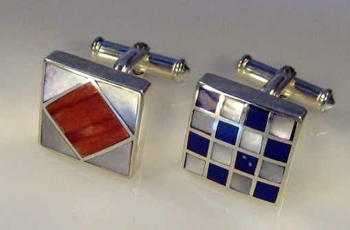 Custom Made Nautical Flag Cufflinks