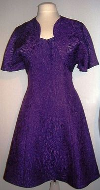 Custom Made Purple Dress