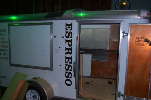 Custom Made Espresso Vendor Trailor  Overhaul!!