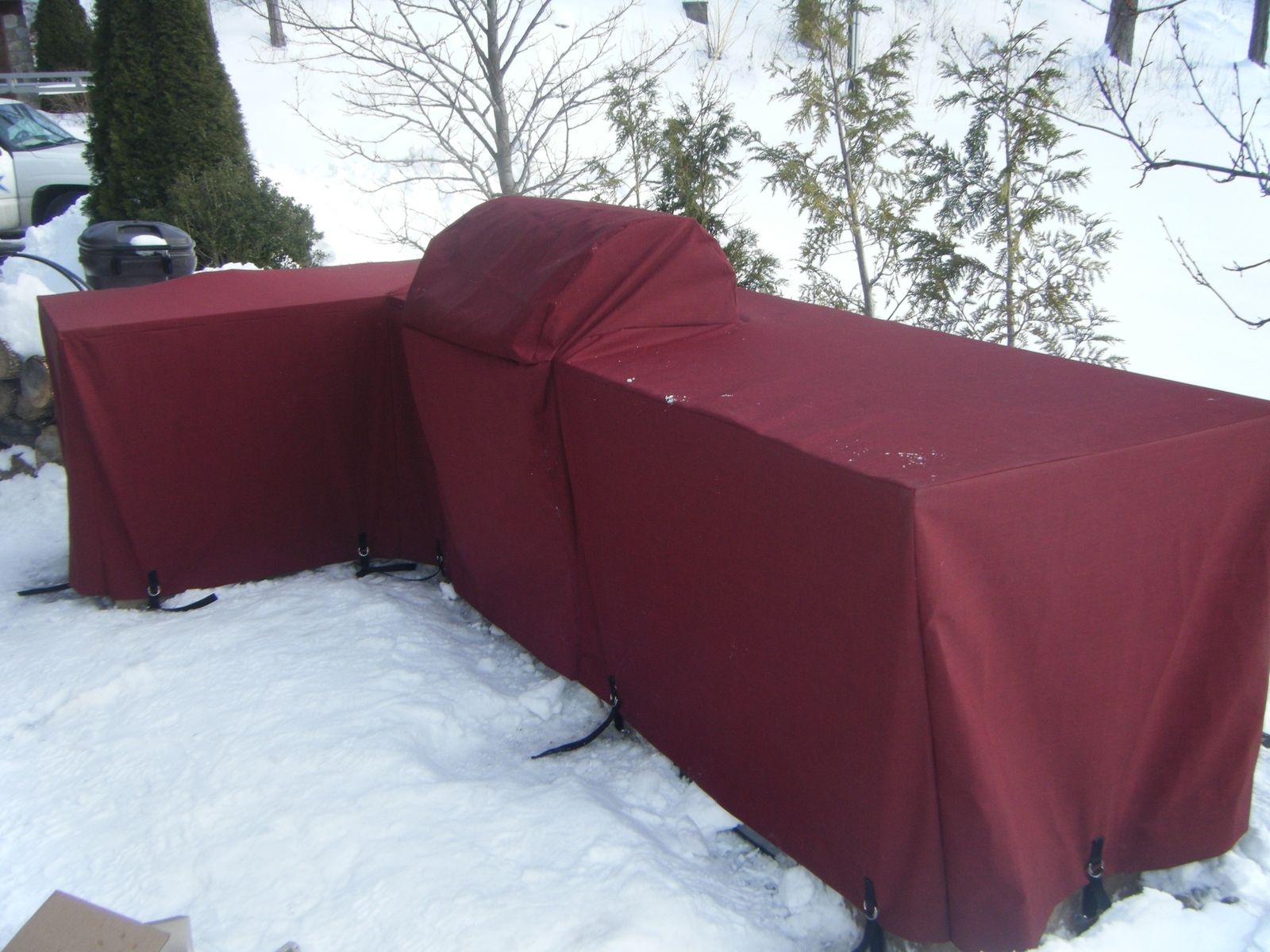 Handmade Custom Grill Covers By Awning Fx Inc