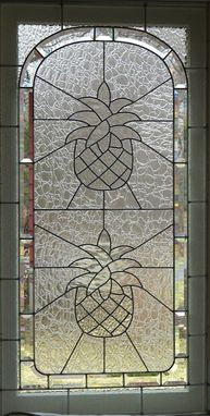 Custom Made Pinneapple Window
