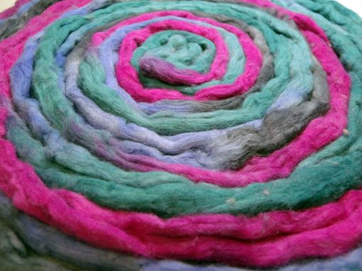 Custom Made Cotton Spinning Fiber - Hand Dyed
