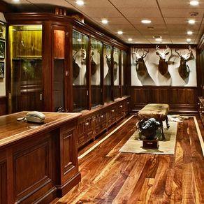 Gun Cabinet Trophy Room By Bir Miller