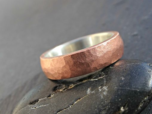 forgeoldfield at two rings wedding hand in oldfield forged make