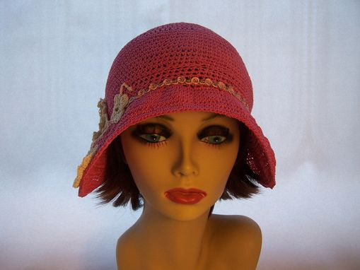 Custom Made 1920s Style Crochet Cloche Bell Shape