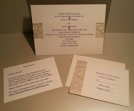 Custom Made Formal Wedding Invitations