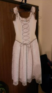 Custom Made Corset Dress