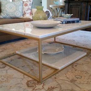 Metal Coffee Table Bradley By Justin Hodges