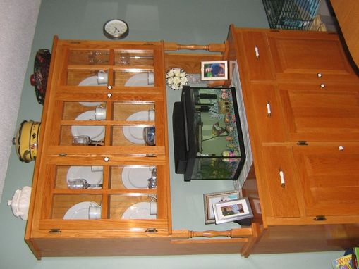 Custom Made Custom China Hutch