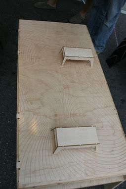 Custom Made Hopper Tables