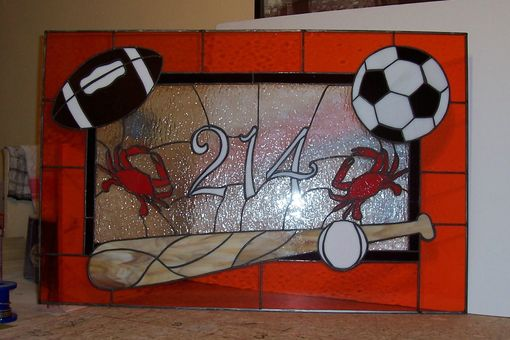 Custom Made Sports Fan Transom (Am-19)