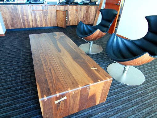 Custom Made Low Rectilinear Coffee Table