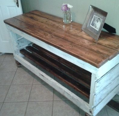 Custom Made Reclaimed Wood Hutch