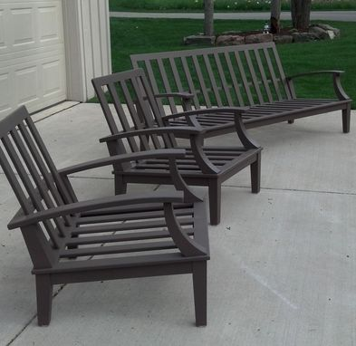Custom Made Cypress Patio Furniture
