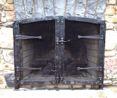 Custom Made Fire Place Screen