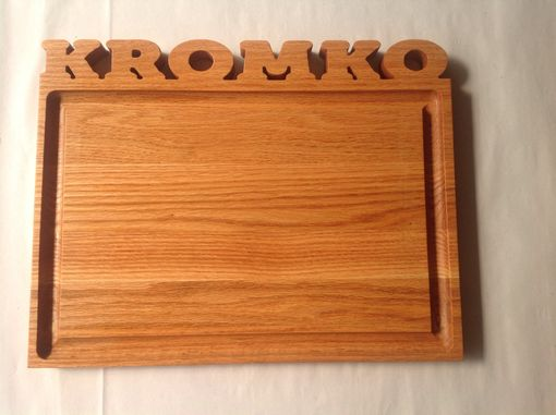 Custom Made Personalized Cutting Board With 3d Text
