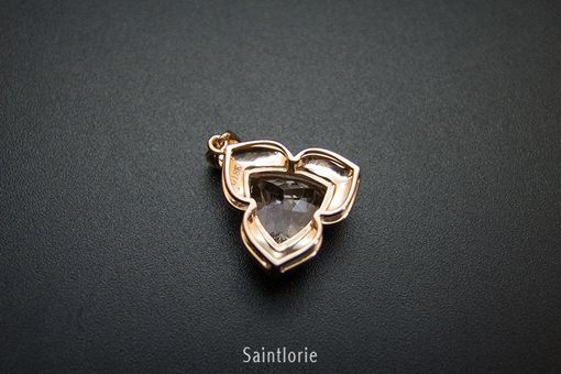 Custom Made 3.5 Carat Morganite Pendant