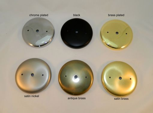 Custom Made Ceiling Light Mount Canopy Kit - Plain Round