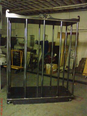 Custom Made Ironflower Fitness, Gogo Dancing Cage.