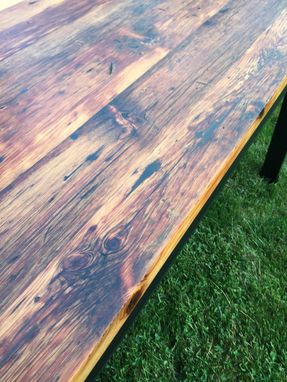 Custom Made ***Antique Pumpkin Pine Farm Table***