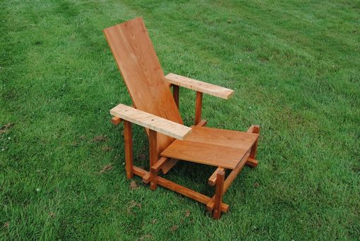 Custom Made Maple Walnut Chair