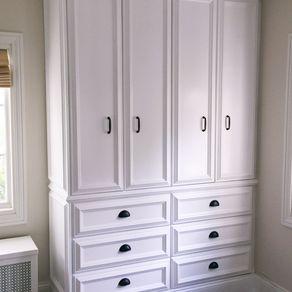 custom bedroom built in