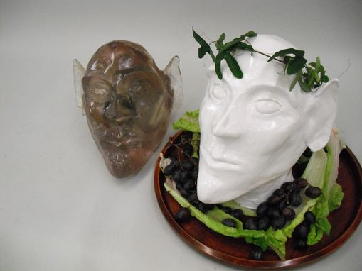 Custom Made Forest King Bust
