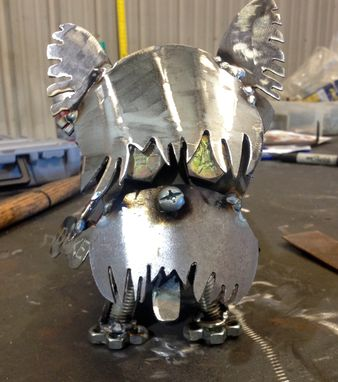 Custom Made Scrap Metal Art