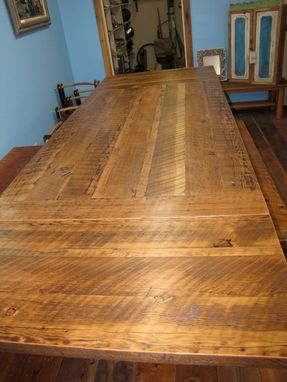 Custom Made Removable Leaves Fir Table