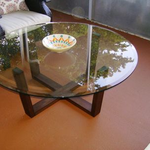 Solid Walnut Coffee Table By