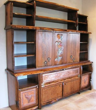 Custom Made New Mexico Juniper Media Center