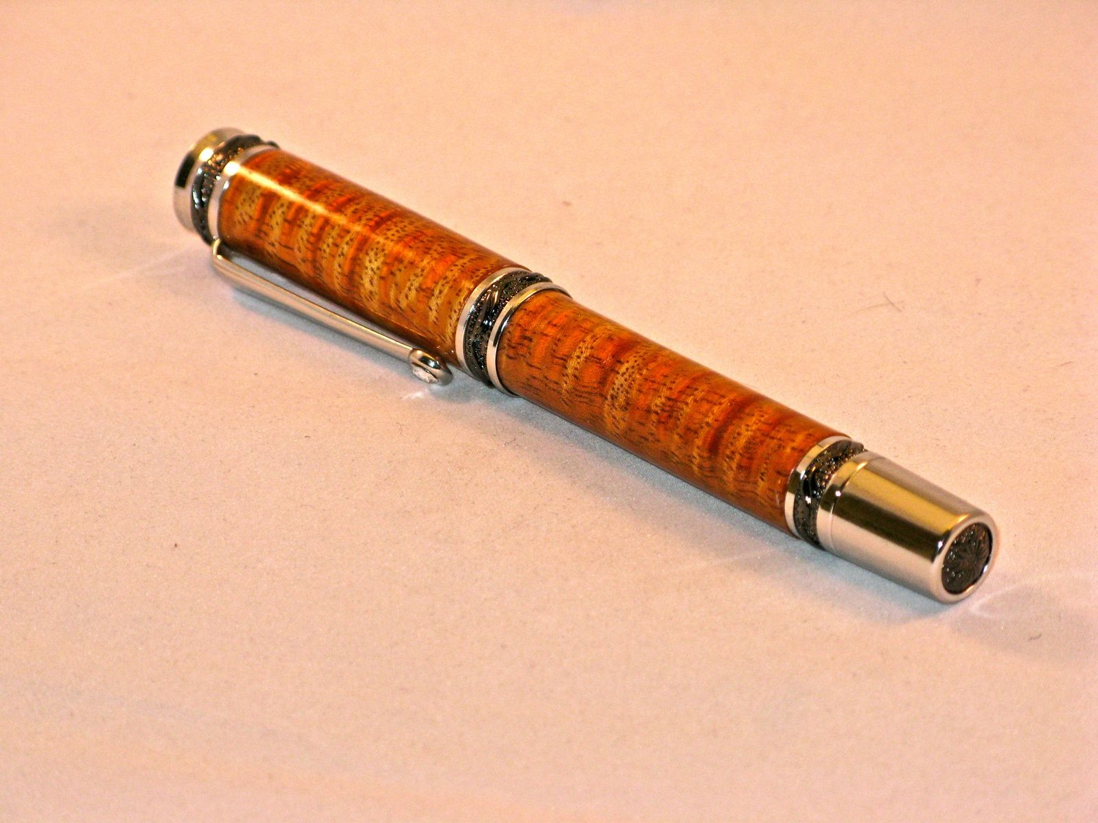 handmade wooden pens crafted figured hawaiian koa pen handmade 5838